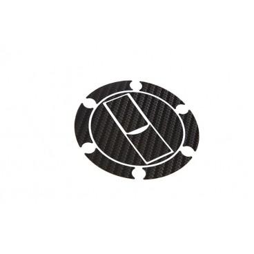 Triumph Crossbar pad Silver Logo